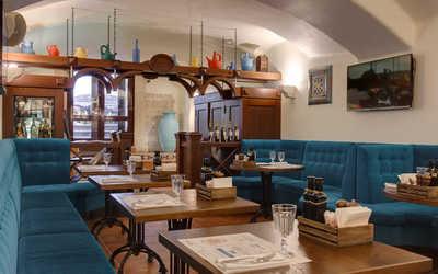 Банкетный зал кафе, ресторана Мама Рома (бывш. Cannoli Cafe) на Малой Конюшенной улице