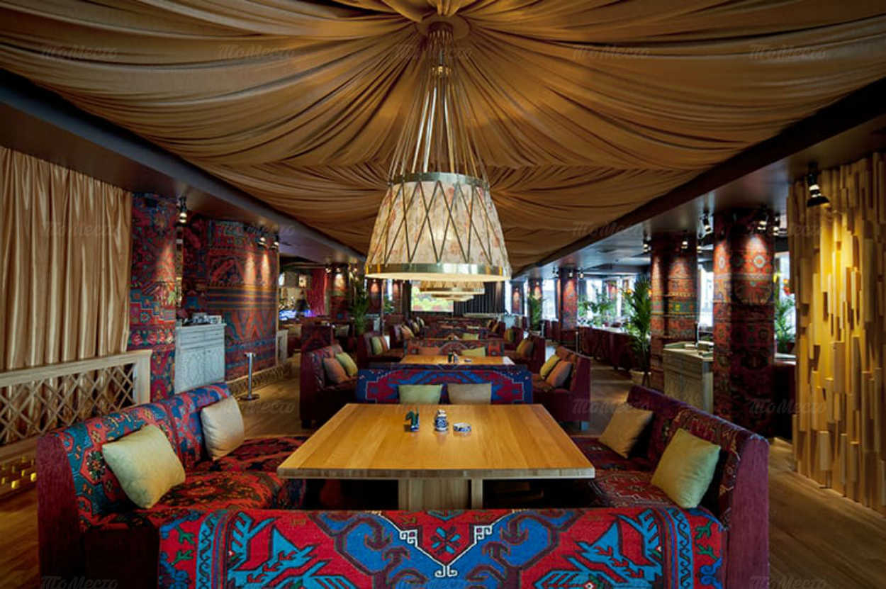 Меню ресторана Чайхана Тапчан на улице Сергия Радонежского