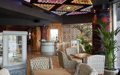 Банкетный зал ресторана Чайхана Тапчан на улице Сергия Радонежского