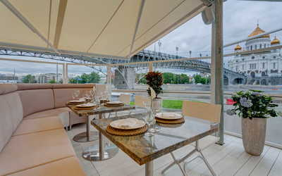 Банкетный зал ресторана Pescatore (Пескаторе) на Берсеневской Набережной фото 2
