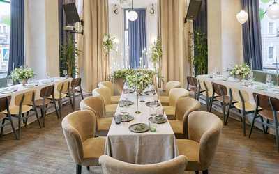 Банкетный зал ресторана Social Club (Сошиал Клаб) на улице Рубинштейна фото 2