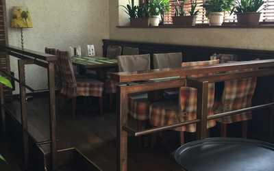Банкетный зал ресторана Портер Хаус на улице Архитектора Власова