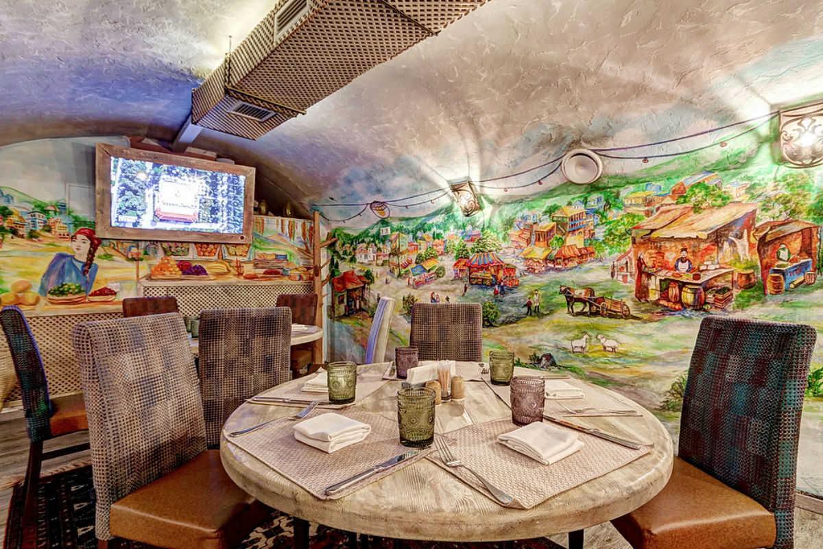 Кафе Натахтари на Сретенке фото 8