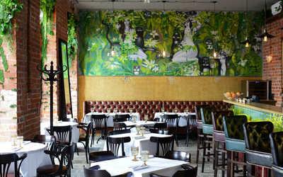 Банкетный зал ресторана Petit cafe (Петит кафе) на Пречистенской набережной