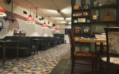 Банкетный зал ресторана Аозора Ретрокан (Aozora Retrokan) на Кутузовском проспекте фото 2