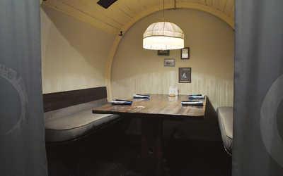 Банкетный зал ресторана Аозора Ретрокан (Aozora Retrokan) на Кутузовском проспекте фото 3