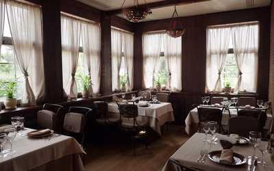 Банкетный зал ресторана Трактир Сам пришёл на проспекте Вернадского