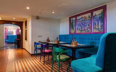 Банкетный зал ресторана Cannoli Cafe на Морской набережной