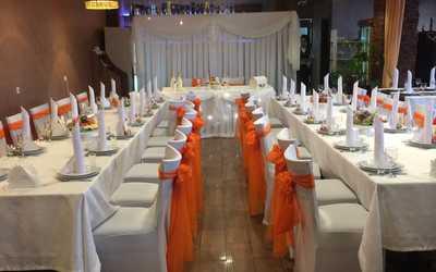 Банкетный зал ресторана Биджо