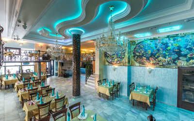 Банкетный зал ресторана Аквариум на территории Воронцовский Парк фото 1