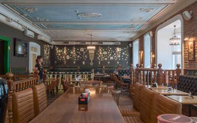 Банкетный зал гастропаба The Red Fox Pub & Grill на Большом Проспекте П.С.