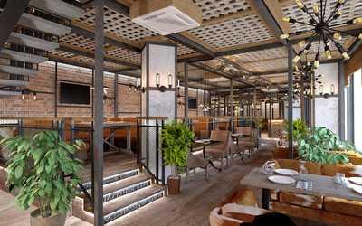 Банкетный зал ресторана Chili на проспекте Космонавтов