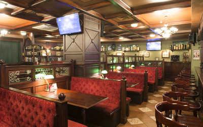 Банкетный зал паба О'Брайнс паб (O'Briens pub) на проспекте Королёва