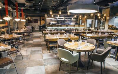 Банкетный зал стейка-хауса Мясной ресторан 45°/ 60° (45/60) на улице Щепкина