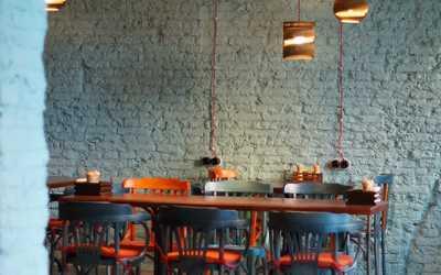 Банкетный зал кафе I Feel Food на Владимирском проспекте
