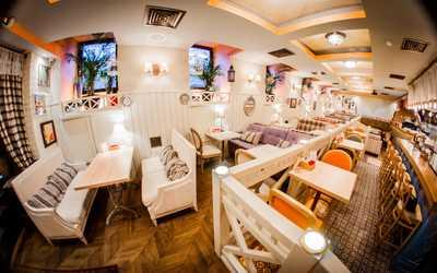 Банкетный зал ресторана Villaggio в Тучковом переулке фото 3