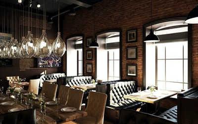 Банкетный зал пивного ресторана Хомутов Бар (Homutov Bar) на Московском проспекте фото 2