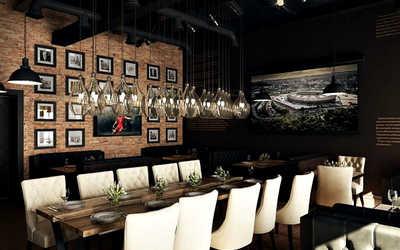 Банкетный зал пивного ресторана Хомутов Бар (Homutov Bar) на Московском проспекте фото 3