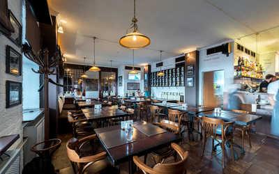 Банкетный зал пивного ресторана Brasserie Lambic на улице Воронцово Поле фото 1
