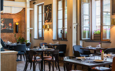 Банкетный зал ресторана Brasserie Lambic на улице Большой Ордынка фото 1
