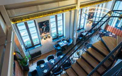 Банкетный зал ресторана Brasserie Lambic на улице Большой Ордынка фото 3