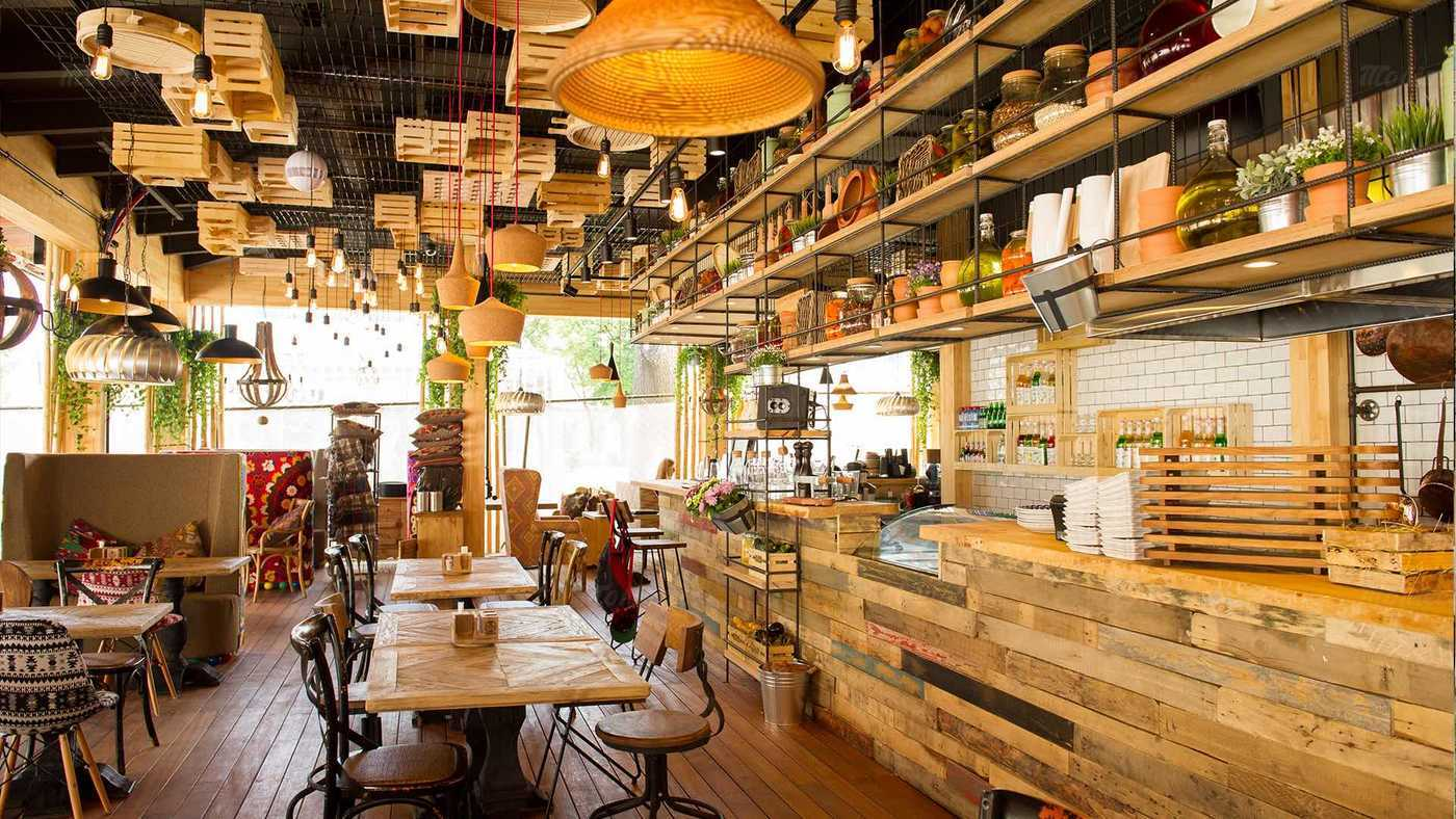 Ресторан FOOD BAZAR (Фуд базар) на улице Каретный Ряд