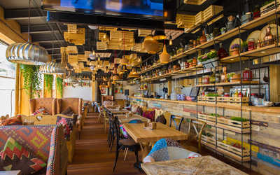 Банкеты ресторана FOOD BAZAR (Фуд базар) на улице Каретный Ряд фото 2