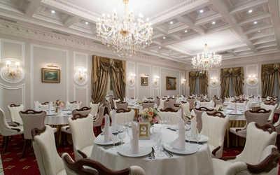 Банкетный зал ресторана Особняк Глуховского в набережной Адмирале Лазарева фото 3