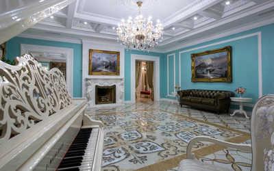 Банкетный зал ресторана Особняк Глуховского в набережной Адмирале Лазарева фото 2