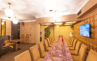 Банкеты ресторана Кафедра Вкуса (Быв. Чайхана Голд) на Ломоносовском проспекте фото 2