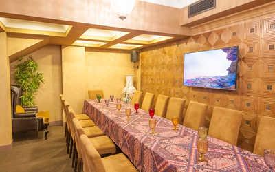 Банкеты ресторана Кафедра Вкуса (Быв. Чайхана Голд) на Ломоносовском проспекте фото 1
