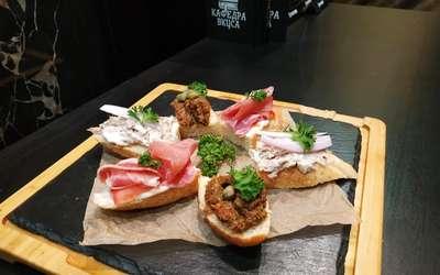 Меню ресторана Кафедра Вкуса на Ломоносовском проспекте фото 30