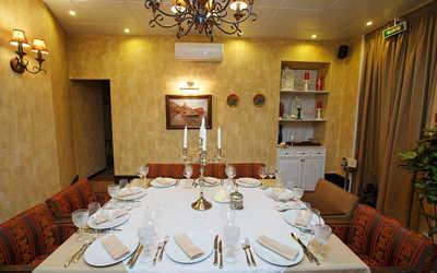 Банкетный зал ресторана Хинкальная на Неве на Суворовском проспекте фото 2