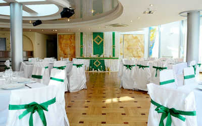 Банкетный зал ресторана Небо на улице Елькина фото 2