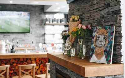Банкетный зал ресторана Chalet Alpaca на улице Кораблестроителей фото 2