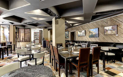 Банкетный зал ресторана Common People на Нижней Сыромятнической улице фото 2