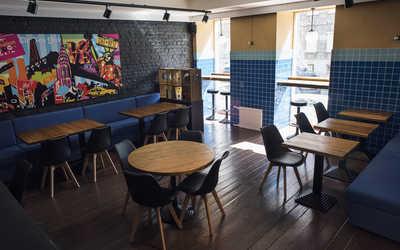 Банкетный зал гастропаба Alex P. Bar & Pastrami на улице Правды фото 1
