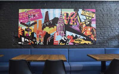 Банкетный зал гастропаба Alex P. Bar & Pastrami на улице Правды фото 2