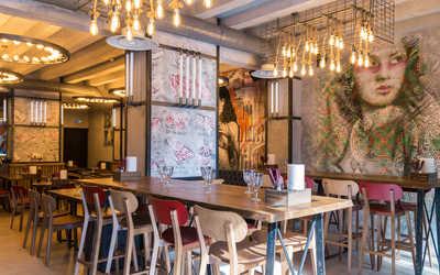 Банкетный зал бара Brооklyn BBQ (Бруклин Бибикью) на Ладожской улице фото 1