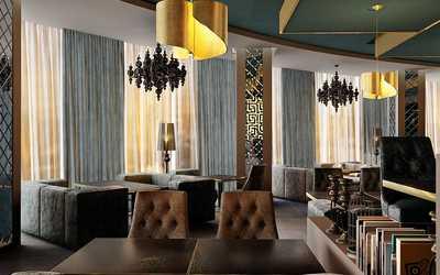 Банкетный зал ресторана Five на улице Малышева фото 2