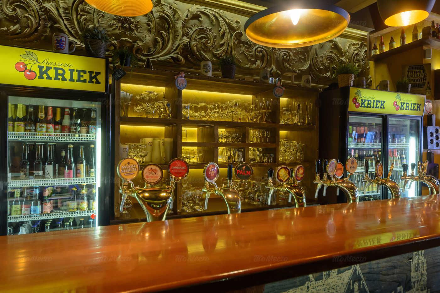 Ресторан Брассерия Крик (Brasserie Kriek) на Невском проспекте фото 6
