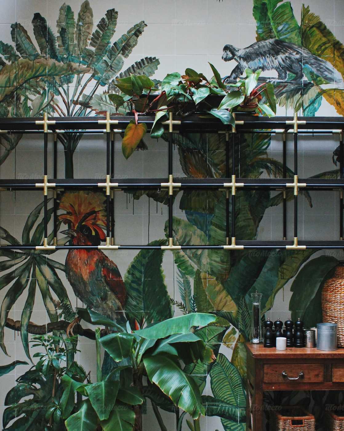 Кафе Jungle (Джунгли) на набережной канала Грибоедова фото 9