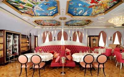 Банкетный зал ресторана Ле Гранд (Le Grand) на улице Розы Люксембург фото 1