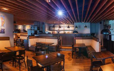 Банкетный зал пивного ресторана Сыто-Пьяно на проспекте Обуховской Обороны фото 2