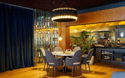 Банкетный зал ресторана Атмосфера на улице Василисы Кожиной фото 3