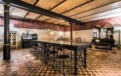 Банкетный зал бара Laboratorio Distilita (Лаборатория дистиллятов) на Гражданской улице фото 1