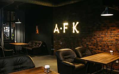 Банкетный зал бара AFK Premium Lounge Bar (АФК Премиум Лоунж Бар) на улице Есенина фото 1