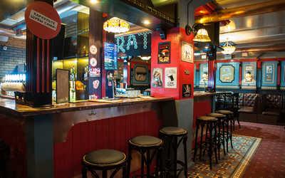 Банкетный зал ресторана LondonBar на улице Фрунзе фото 2