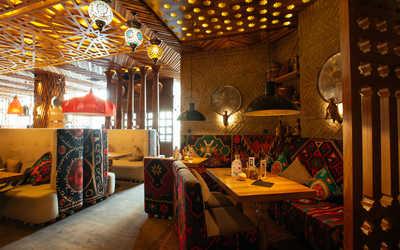 Банкетный зал ресторана Чайхона №1 Тимура Ланского (Chayhona № 1) на Новом Арбате фото 2