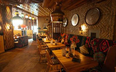 Банкетный зал ресторана Чайхона №1 Тимура Ланского (Chayhona № 1) на Новом Арбате фото 3